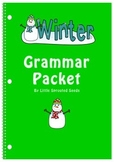 Grammar Worksheet Packet, Winter themed