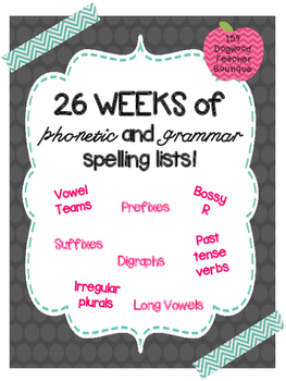 Grammar and Phonetic Spelling Lists
