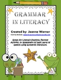 Grammar in Literacy
