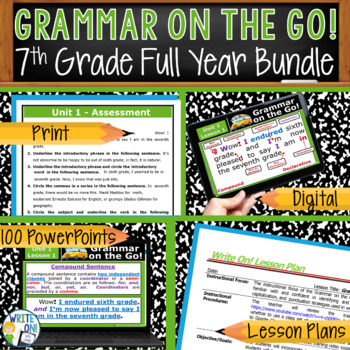 GRAMMAR & VOCABULARY PROGRAM - 7th Grade - Standards Based