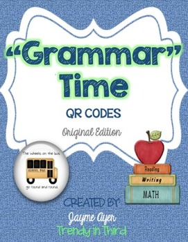 """Grammar""Time: Daily Review of CCSS Language Skills"
