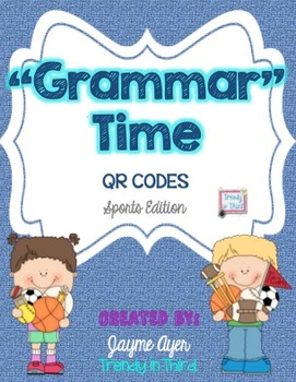 """""""Grammar""""Time Sports Edition: Daily Review of CCSS Languag"""
