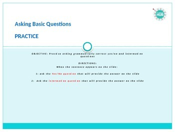 Grammar_Asking Questions practice_Basic to Intermediate_Fo