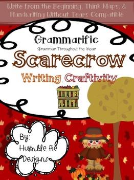 Grammarific Scarecrow Writing Craftivity