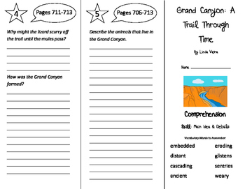 Grand Canyon: A Trail Through Time Trifold - Storytown 4th