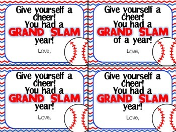 Grand Slam Year Freebie