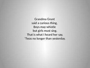Grandma Grunt (Reading and Practicing Do Re Mi So)