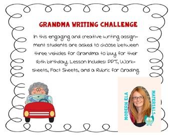 Grandma Writing Challenge
