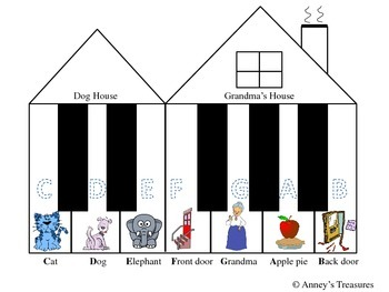 Grandma's House Piano Teaching Bundle
