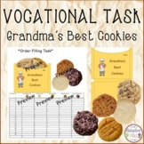 VOCATIONAL TASK Grandma's Best Cookies