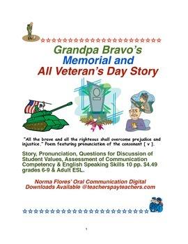Grandpa Bravo's Memorial Day & All Veteran's Day Story