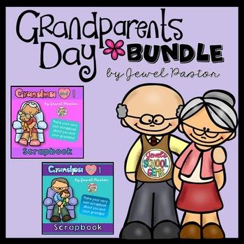 Grandparents Day Activities  BUNDLE (Grandpa and Grandma S