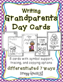 Grandparents Day Cards: Differentiated for ALL your Specia
