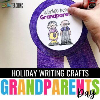 Grandparents Day Craftivity {No Prep}