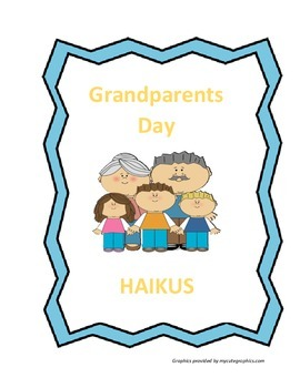 Grandparents Day: Haikus - FREE!