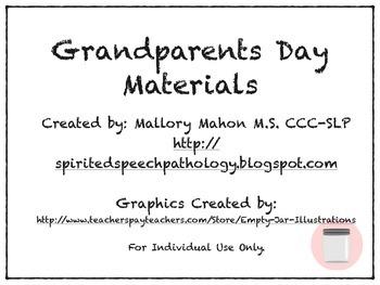 Grandparents Day Material