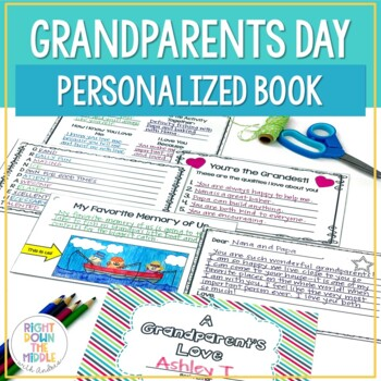 Grandparents Day Personalized Book