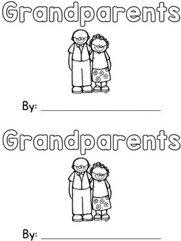 Grandparents Sight Word Book