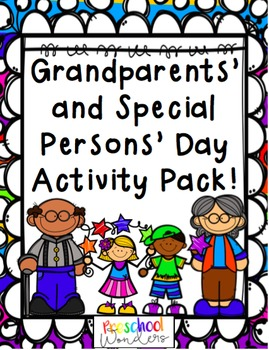 Grandparents' and Special Persons' Day Activity Pack
