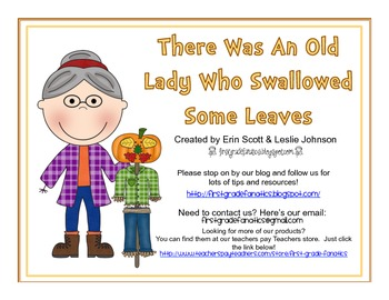 Granny Swallowed Some Leaves *FREEBIE*