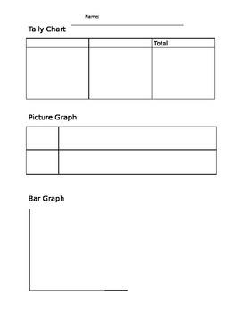Graph Mat: Graph 3 Ways (tally chart, picture grap & bar graph)
