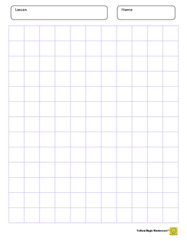 Graph Paper 0.7 x 0.7 inch Purple