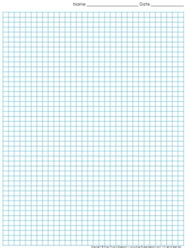 Graph Paper: Full Page Grid - half centimeter squares - 31