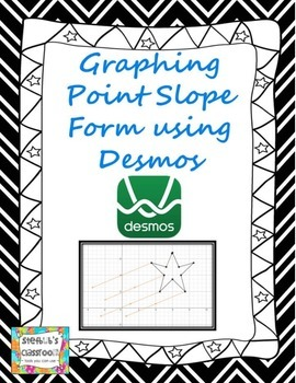Graph Point Slope Form Using Desmos