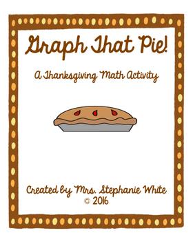 Graph That Pie! A Thanksgiving Math Activity