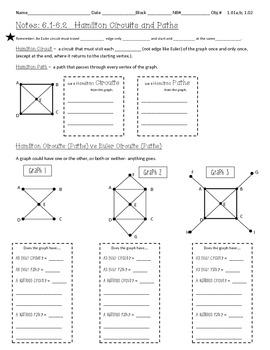 Discrete Math - Graph Theory Notes - Hamilton Circuits & T