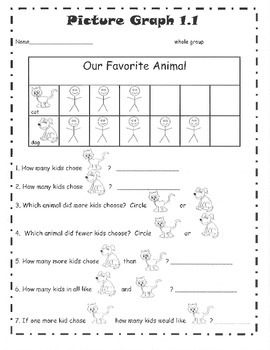 Graph and Data (Bar Graphs, Picture Graphs, & Tally Charts