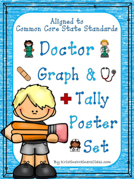 Graph and Tally Poster Set: Doctor Pictures