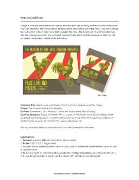 Graphic Design Level 3: Postcard & Ticket