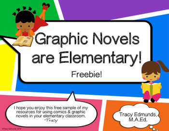Graphic Novels Are Elementary! Freebie