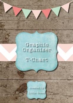 {FREE} Graphic Organizer - T Chart