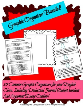 Graphic Organizer Set
