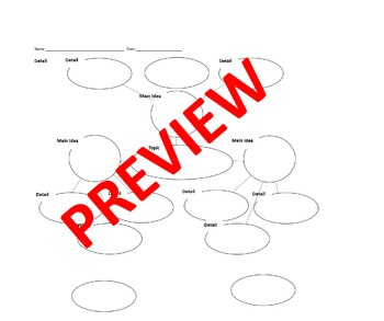 Graphic Organizer Essay Writing (Editable)