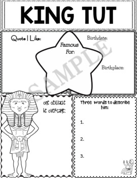 Graphic Organizer : King Tut