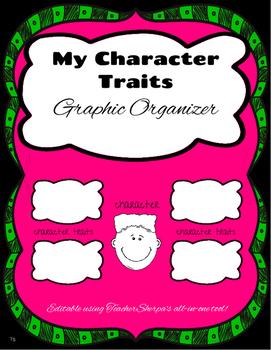 Graphic Organizer: My Character Traits