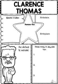 Graphic Organizer : Thurgood Marshall