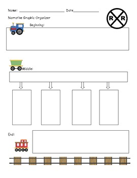 Graphic Organizer for Narrative Stories