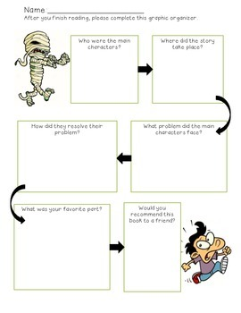 Graphic Organizer for Scary Stories