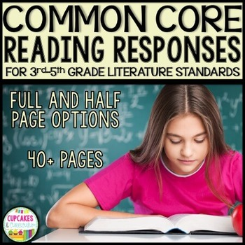 Reading Responses Aligned with 3rd-5th Grade Common Core R