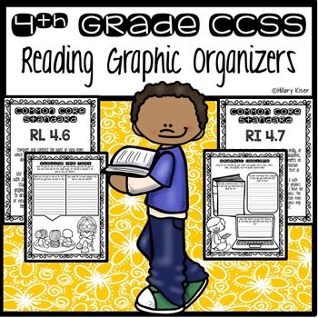 Graphic Organizers (Common Core 4th Grade)