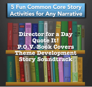 Graphic Organizers & Engaging Activities for Any Story