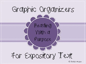 Graphic Organizers For Expository Text