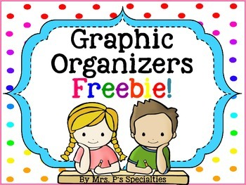Graphic Organizers {Freebie}