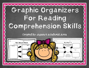 Reading Comprehension Skills Graphic Organizers