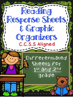 Reading Response Sheets & Graphic Organizers: C.C.S.S Alig
