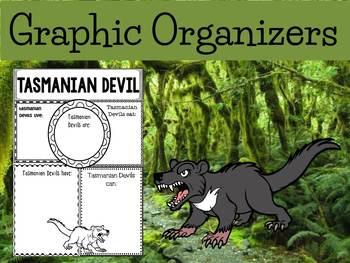 Graphic Organizers: Tasmanian Devil : Australia, Madagasca